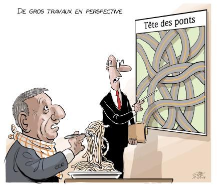 Caricature du 18 mars (Le Soleil, André-Philippe Côté)