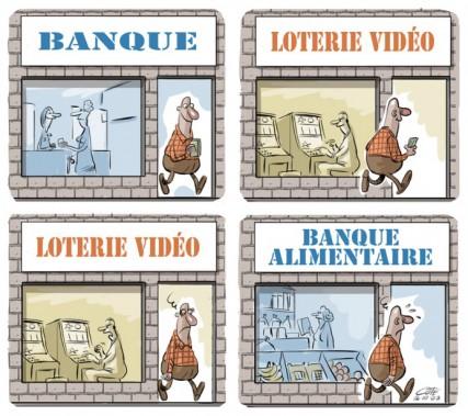 Caricature du 19 mars (reprise) (Le Soleil, André-Philippe Côté)