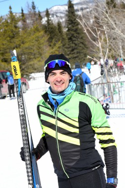 L'Olympien Raphaël Gagné a terminé troisième. (Le Progrès-Dimanche, Rocket Lavoie)