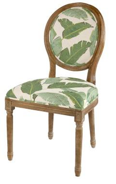 Chaise de salle à manger motif palmier, 179,99 $ chez HomeSense (Fournie par HomeSense)