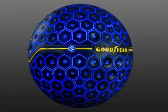 Un pneu imaginaire virtuellement amélioré, en théorie