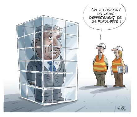 Caricature 25 mars (Le Soleil, André-Philippe Côté)