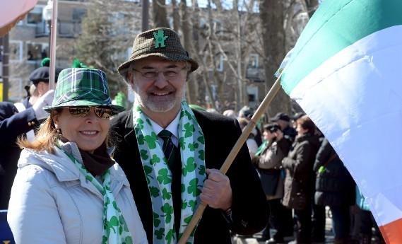 Anne Guérette et Paul Shoiry, de Démocratie Québec (Le Soleil, Erick Labbé)