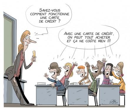 Caricature du 27 mars (Le Soleil, André-Philippe Côté)