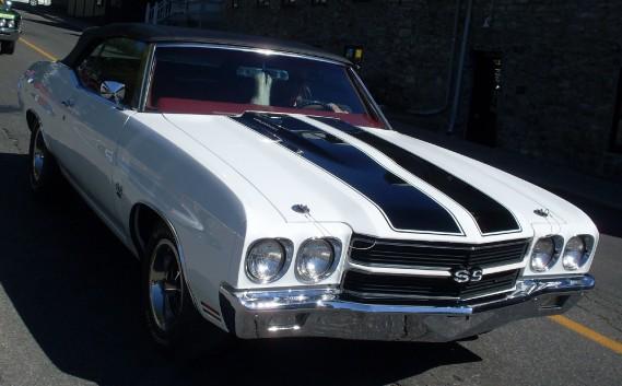 <strong>La voiture qui a marqué son enfance </strong>La Chevrolet Chevelle SS de son père. ()