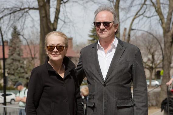 Véronique Leflaguais et Michel Côté. (NINON PEDNAULT, LA PRESSE)