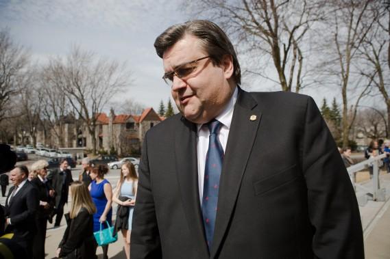 Le maire de Montréal, Denis Coderre. (NINON PEDNAULT, LA PRESSE)