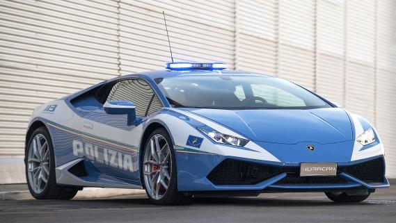 Lamborghini Huracan de police (La Presse)