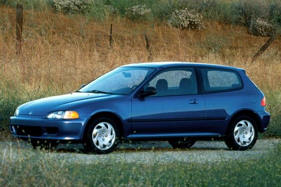 <strong>Sa première voiture</strong>«Une Honda Civic Hatchback, ça devait être en 1992. Après, j'ai toujours eu des quatre roues motrices, car j'habitais dans un condo où la ruelle n'était jamais déneigée.» (Photo : Honda)