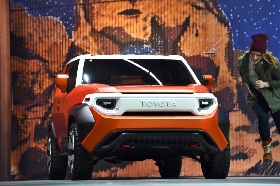 Le prototype FT-4X de Toyota : un mini FJ Cruiser