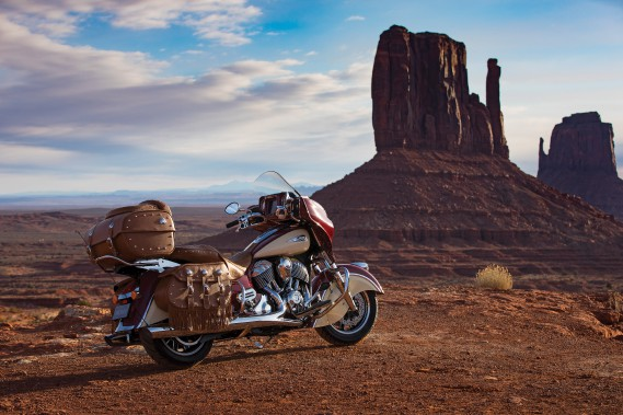 La grosse Indian Roadmaster Classic. (Photo : Indian)