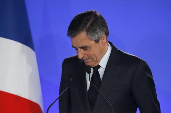 Le candidat Francois Fillon s'est rangé derrière Emmanuel Macron. (AP, Michel Euler)