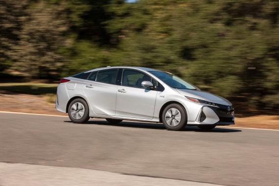 La Prius Prime est très aérodynamique : elle a un coefficient de traînée très faible (0,25 cx). ()