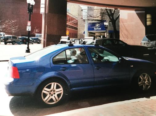 <strong>Sa pire voiture</strong> Une Jetta VR6 neuve en 2001, c'était un plaisir à conduire, mais... 36 visites au garage en 2 ans. (Photo fournie par Philippe Pépin)