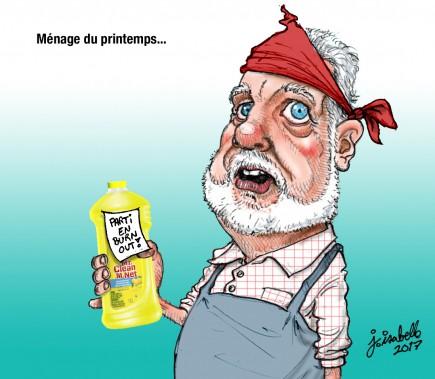 Caricature du 28 avril (Le Nouvelliste, Jean Isabelle)