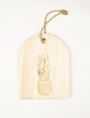 Mode Choc - Planche de bois décorative gravée. À déposer sur une tablette ou suspendre au mur. <br />Dimension: 25 cm X 32 cm ()