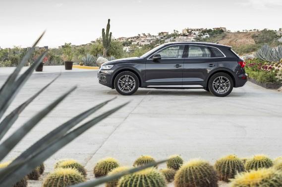 L'Audi Q5 n'est qu'un des nombreux véhicules assemblés au Mexique et exportés aux États-Unis et au Canada. Il est construit à l'usine Volkswagen deSan Jose Chiapa depuis l'an dernier. (Photo : Audi)