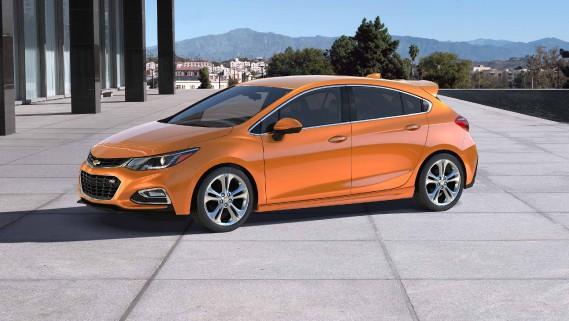 La Chevrolet Cruze est assemblée àRamos Arizpe. (Photo : Chevrolet)