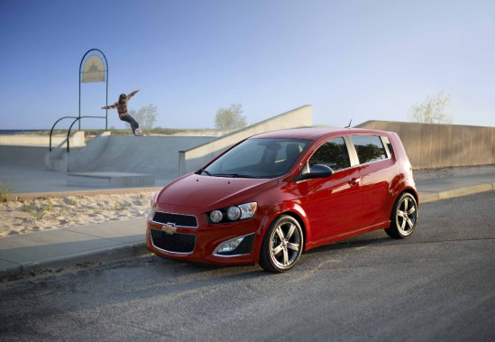 La Chevrolet Sonic est construite à l'usine deRamos Arizpe, comme la Cruze. (Photo : Chevrolet)