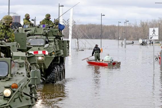 Traverse pour canot à Gatineau. (Patrick Woodbury, Le Droit)