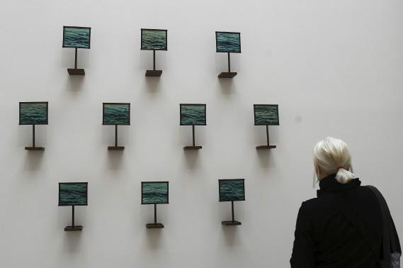 <em>Our Naufrage</em>,<em></em>de laCanadienne Hajra Waheed (AFP, Vincenzo Pinto)