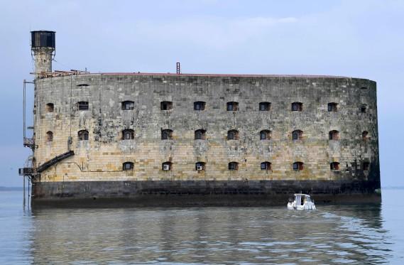 Le Fort Boyard, au large de La Rochelle, en France (AFP, MEHDI FEDOUACH)