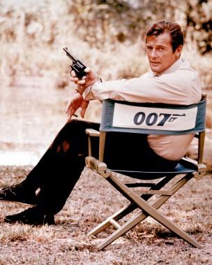 Roger Moore en 1972 (AP)