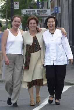Louise Laprade, Nicole Leblanc et Abla Fahroud (Photothèque Le Soleil)