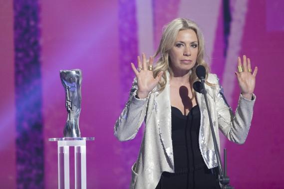 Céˆline Bonnier a remporté le prix de la meilleure actrice dans un second rôle, pour son travail dans<em>Embrasse-moi comme tu m'aimes</em>. (OLIVIER JEAN, LA PRESSE)