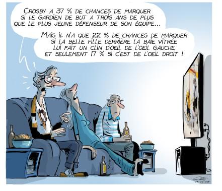 Caricature du 5 juin (Le Soleil, André-Philippe Côté)