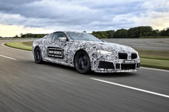 Une BMW M8 déjà en préparation