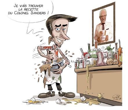 Caricature du 7 juin (Le Soleil, André-Philippe Côté)