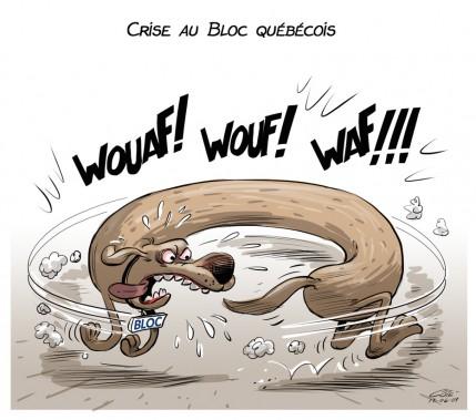 Caricature du 9 juin (Le Soleil, André-Philippe Côté)