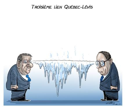 Caricature du 11 juin (Le Soleil, André-Philippe Côté)