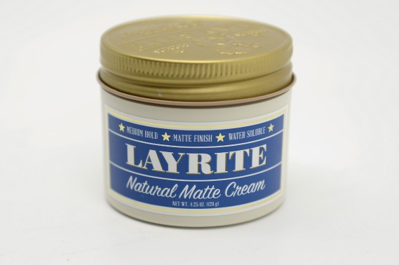 <strong>Pommade natural matte cream</strong><strong> </strong>de Layrite (18 $, 120 g) (Le Soleil, Yan Doublet)