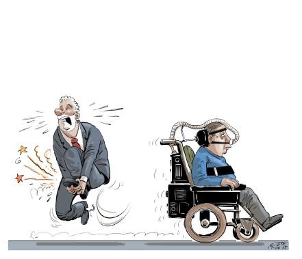 Caricature du 15 juin (Le Soleil, André-Philippe Côté)