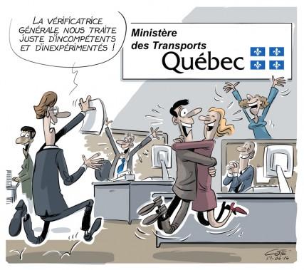 Caricature du 16 juin (Le Soleil, André-Philippe Côté)