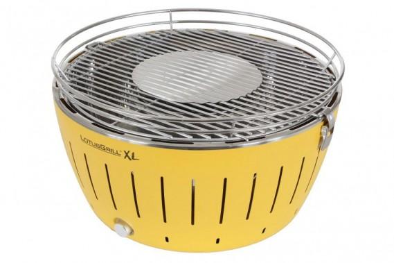 Lotus Grill offert chez Eugène Allard Cuisine et Tendances - Ce barbecue portatif au charbon de bois a déjà été récompensé à maintes reprises notamment au International Barbecue Award, au Red Dot Design Award ainsi qu'au Design Plus Award.Non seulement est-il visuellement attrayant, mais il est aussi performant, facile d'utilisation et sécuritaire, en plus de ne produire aucune fumée grâce à son ventilateur intégré fonctionnant à pile. ()