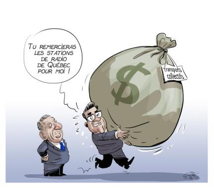 Caricature du 17 juin (Le Soleil, André-Philippe Côté)