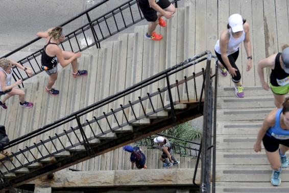 L'escalier du Faubourg (Le Soleil, Yan Doublet)