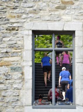 L'escalier du passage du roi (Le Soleil, Yan Doublet)