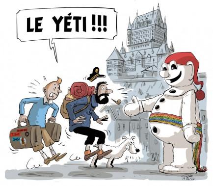 Caricature du 22 juin (Le Soleil, André-Philippe Côté)