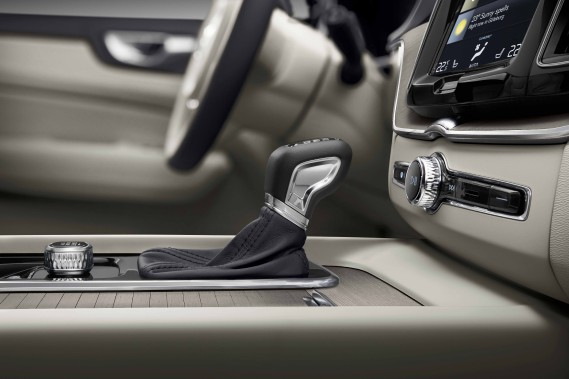 L'intérieur du Volvo XC60 (Photo fournie par Volvo)