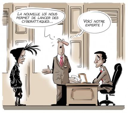 Caricature du 26 juin (Le Soleil, André-Philippe Côté)
