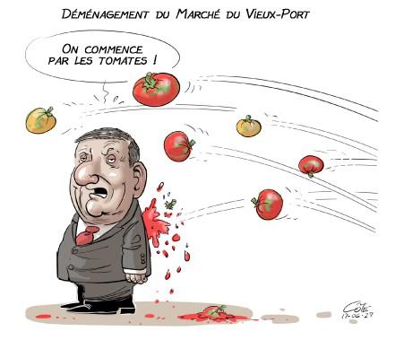 Caricature du 27 juin (Le Soleil, André-Philippe Côté)