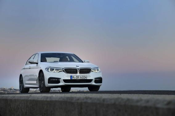 La BMW SéŽrie 5 (Photo fournie par BMW AG)