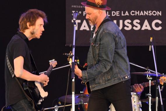 Joseph Edgar au Festival de la chanson de Tadoussac. (Le Quotidien, MIchel Tremblay)