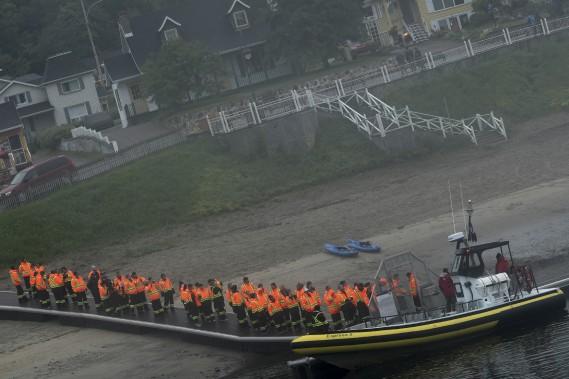 Le Festival de la chanson de Tadoussac, c'est aussi une occasion d'aller observer les baleines. (Le Quotidien, Michel Tremblay)