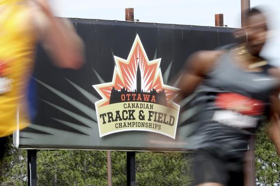 Championnats canadiens d'athlétisme à Ottawa. (PATRICK WOODBURY, Le Droit)