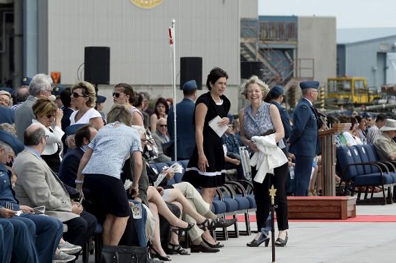 La cérémonie a attiré bon nombre de personnes et dignitaires. (Photo Le Quotidien, Jeannot Lévesque)